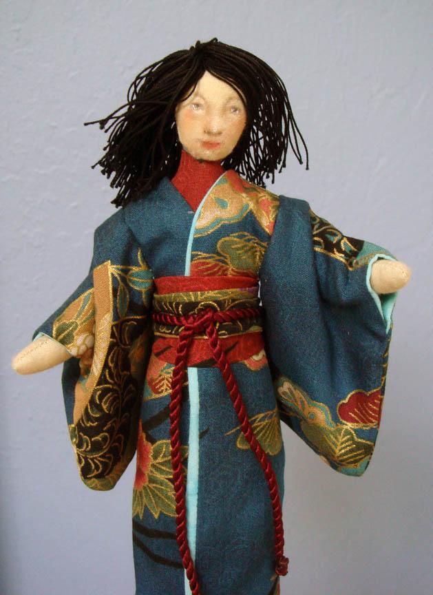 Angela Jarecki kimono doll