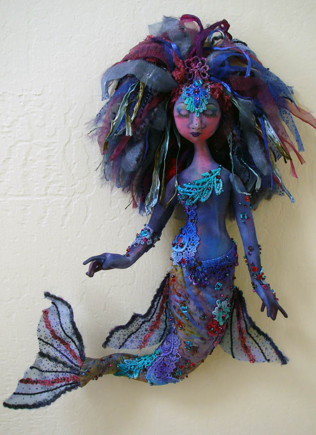 Finished mermaid