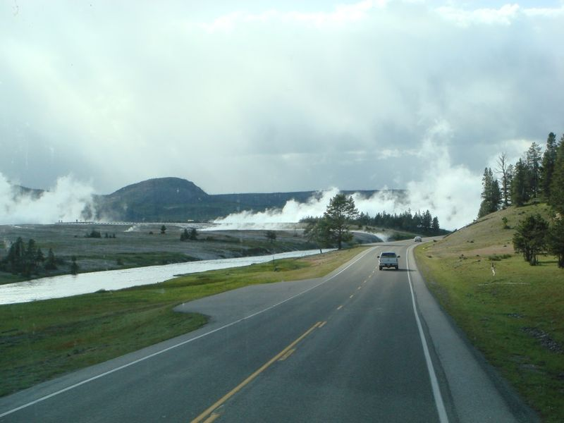 The Land of Smoke at Yellowstone