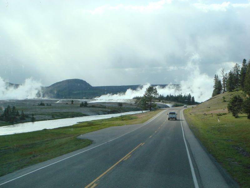 The Land of Smoke at Yellowstone