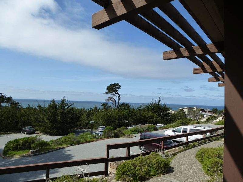 View from our Asilomar room in Middle Longview
