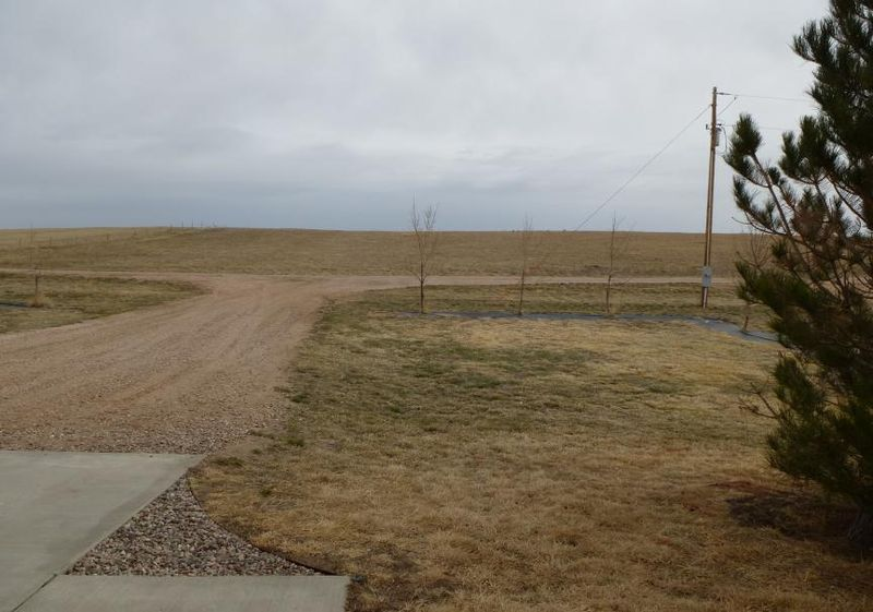 View from front door and walkway