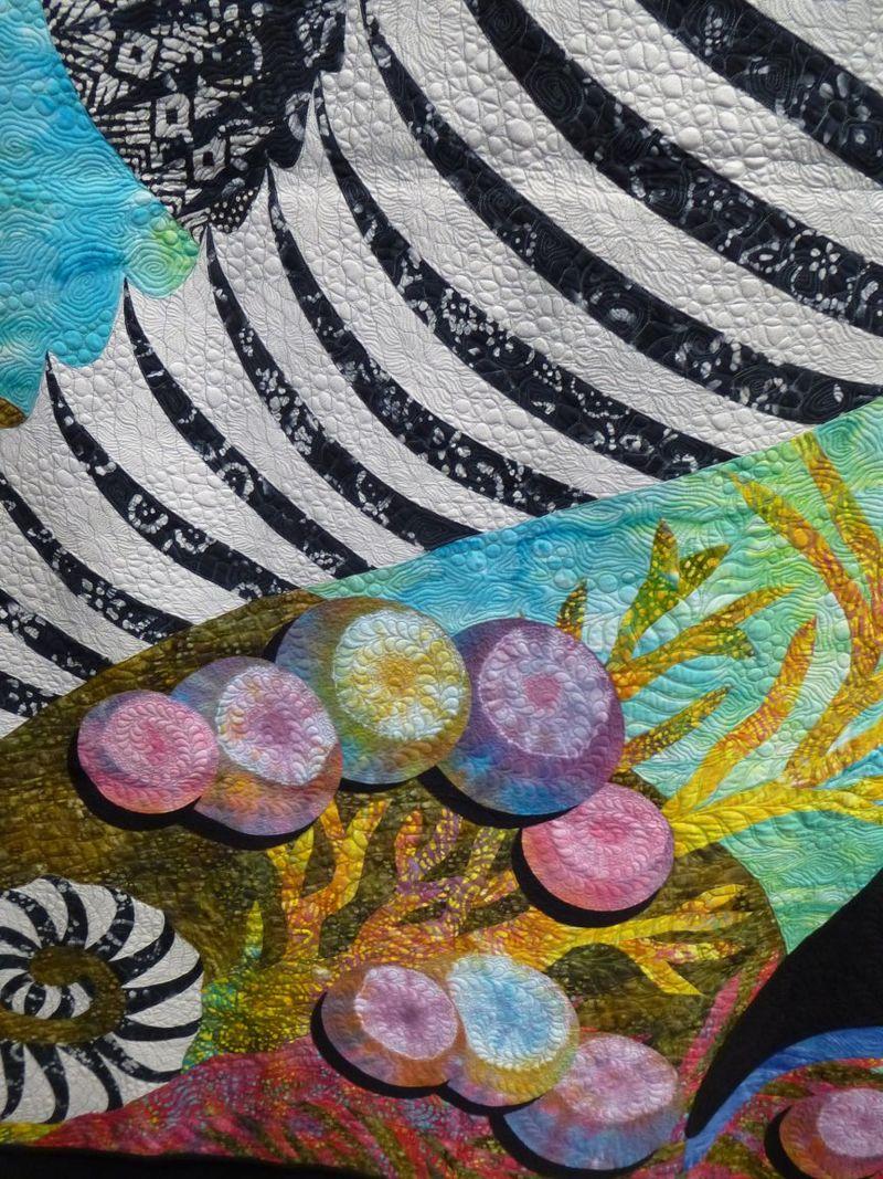 Stripe by Janet Fogg detail