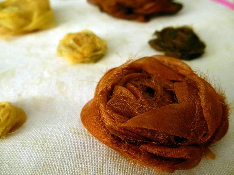 Silk Ribbon Roses
