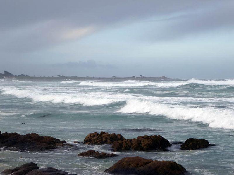 Ocean at Asilomar Pacific Grove CA