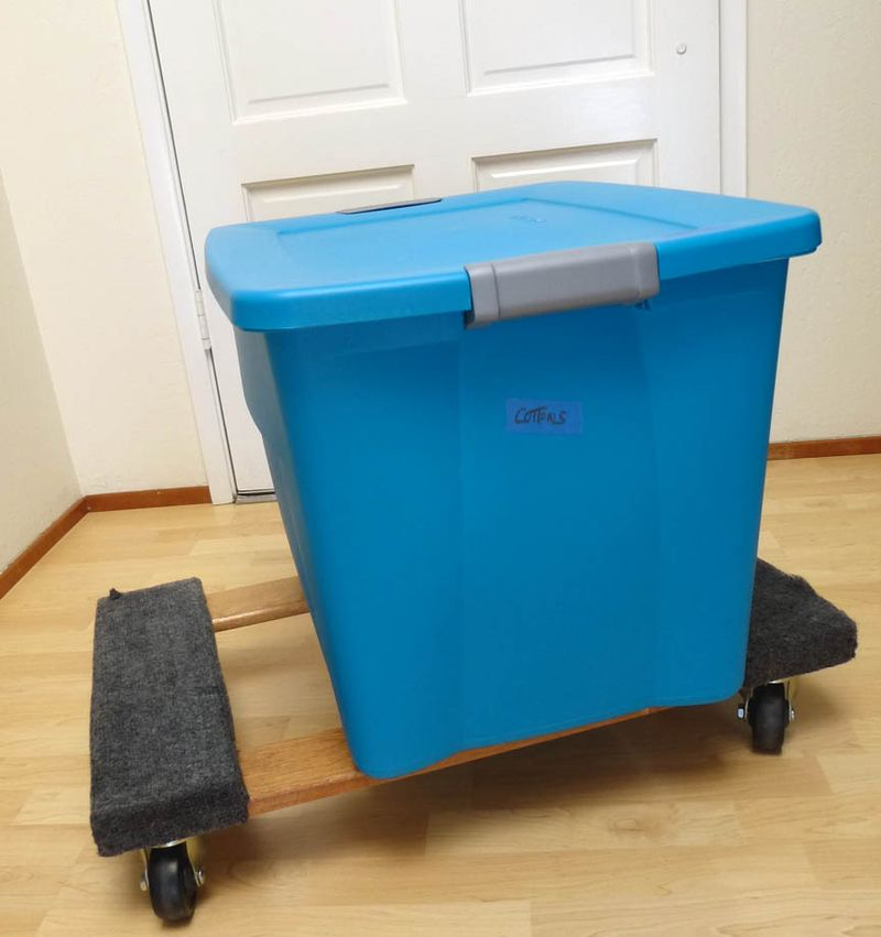 Studio storage containers 22 gal