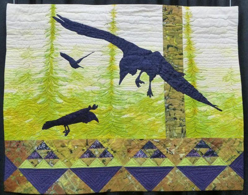 Birds in Flight by Barbara Yates Beasley