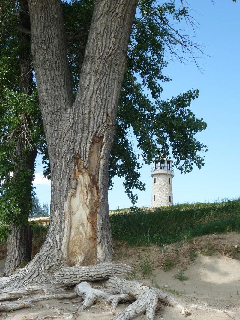 Lighthouse at Lake Minatare NE