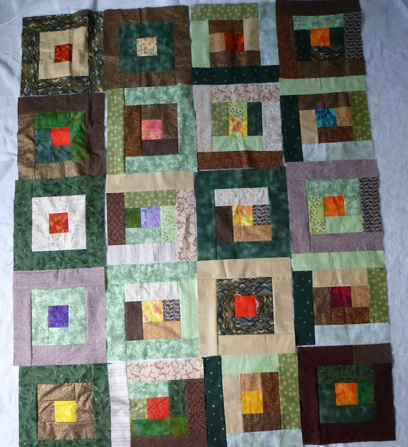 Blocks for third charity quilt