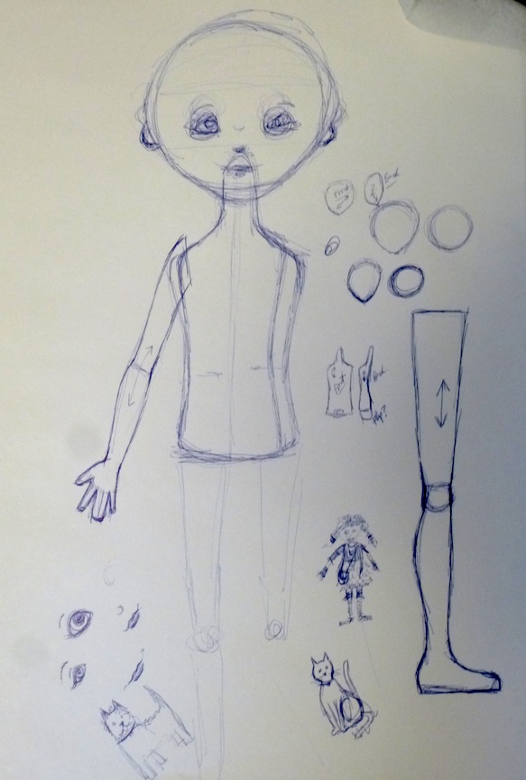Doll Sketches