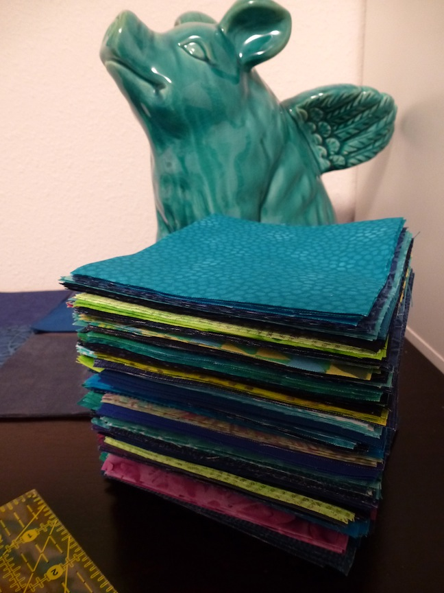 Rectangle Sets for Fractured Quilt