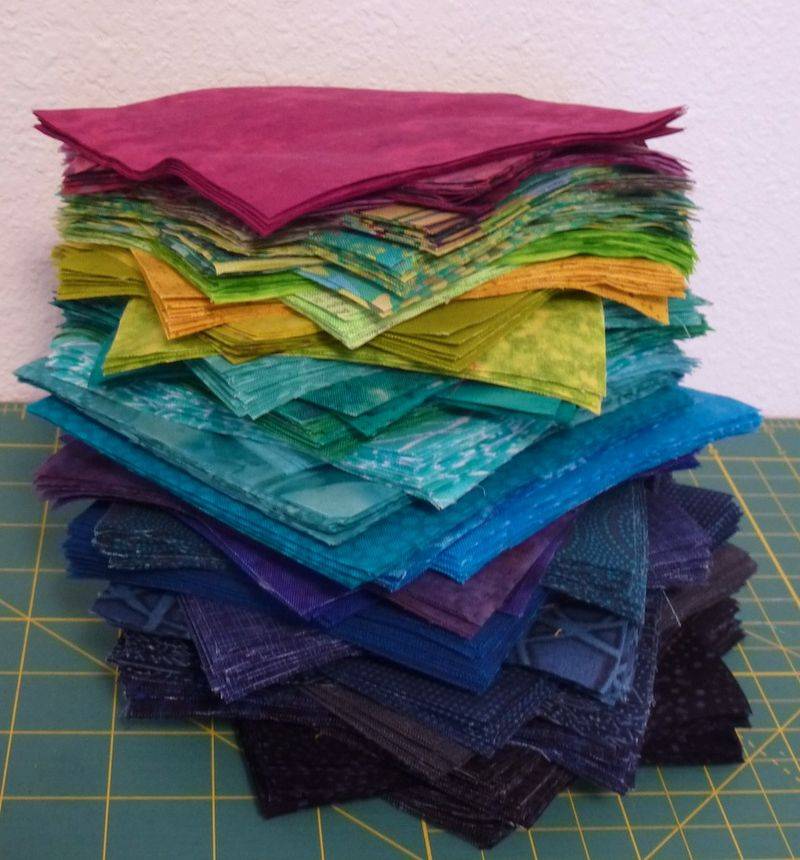 Rectangle stacks for Fractured Quilt
