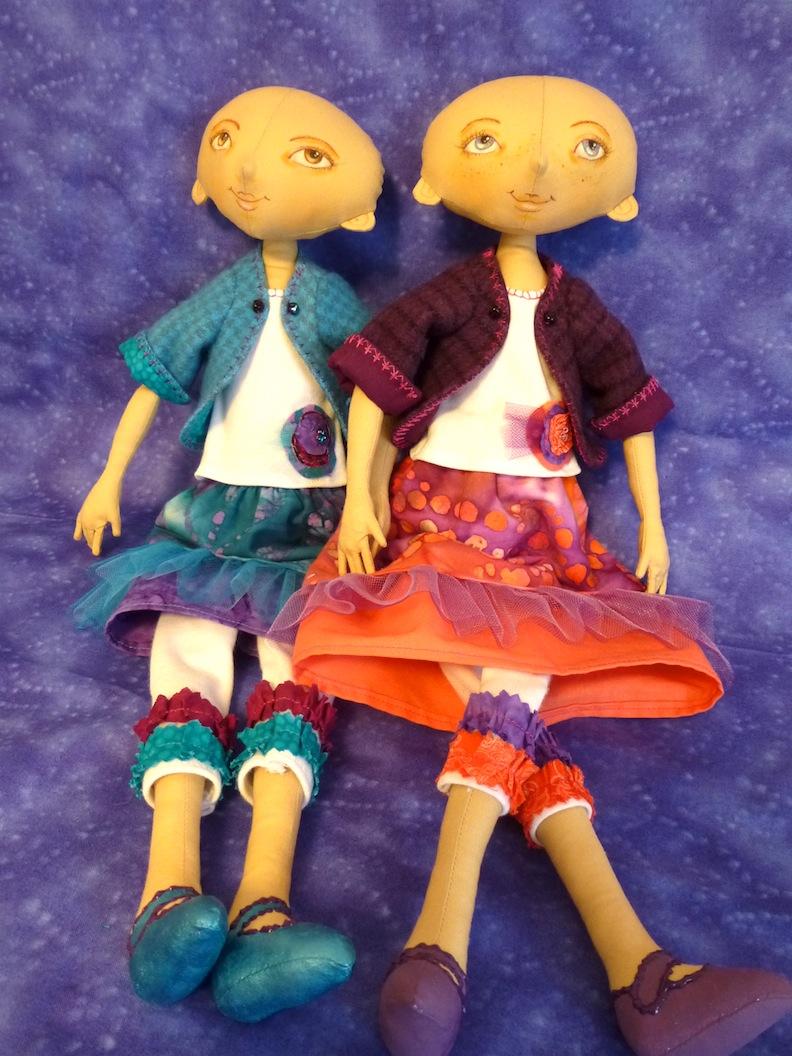 Dolls missing hair