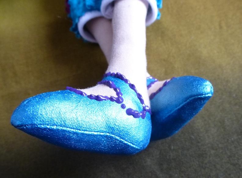Doll Shoe closeup
