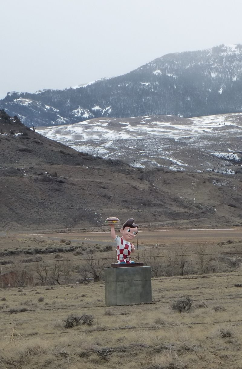 Bobs Big Boy near Cody WY