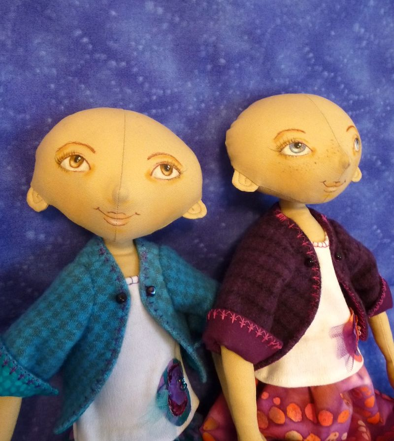 Dolls with faces