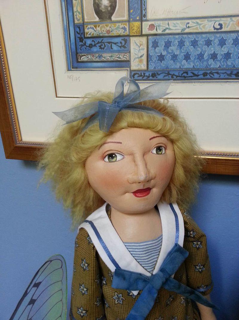 Deanna Hogan workshop doll