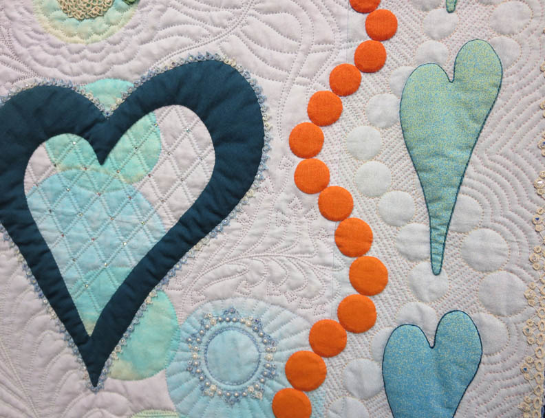 Tatted Hearts detail by Cheryl See