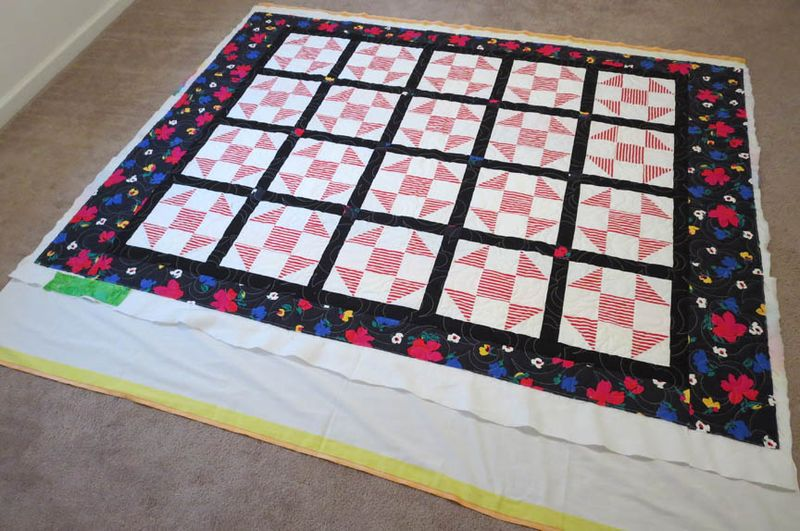 CHQ Charity quilt