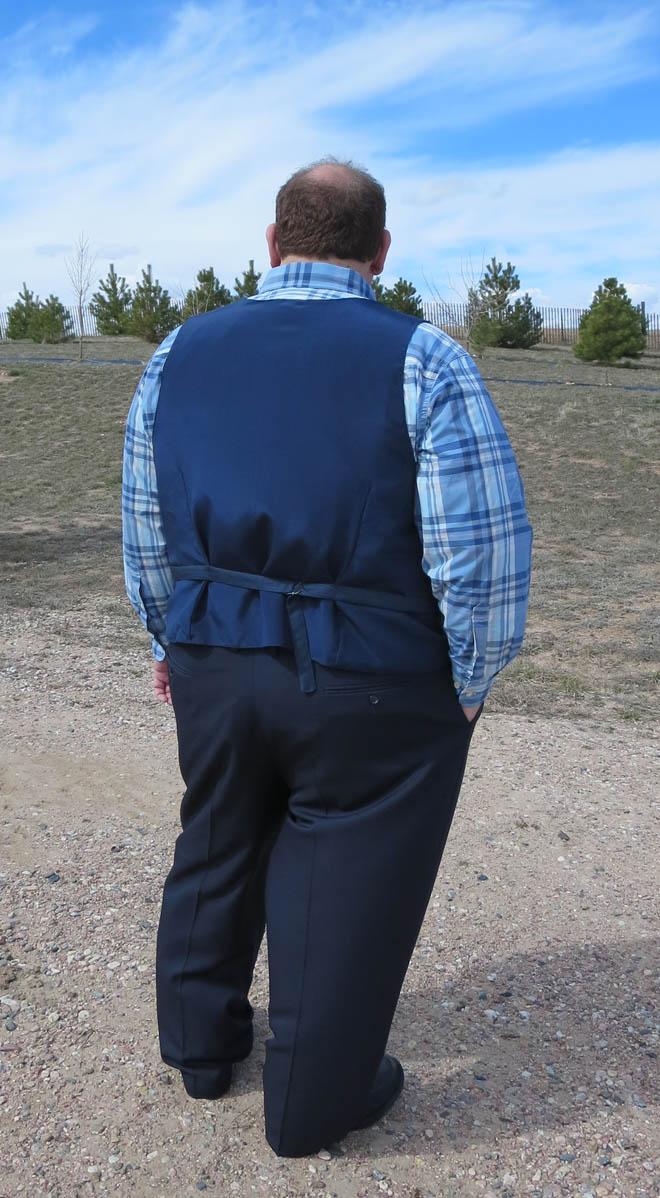 Steve new vest back view