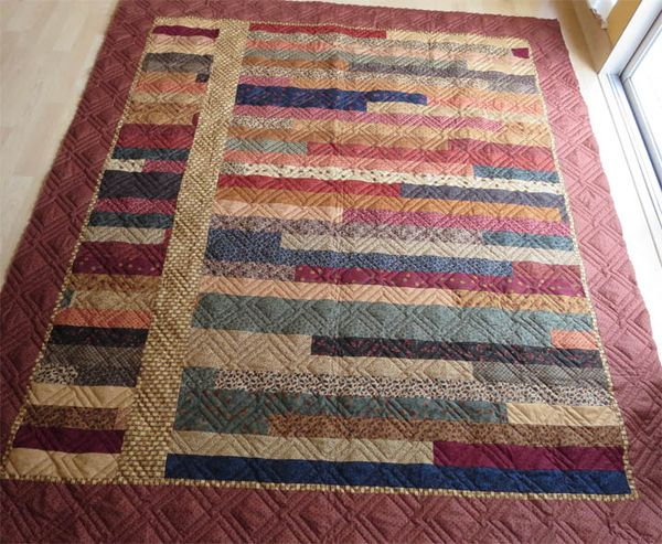 Lap Quilt For Dad The Quilted Lemon