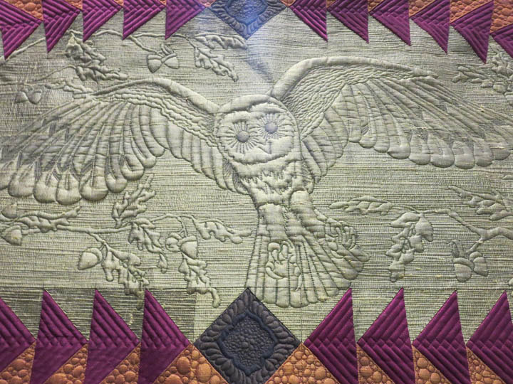 October Sky by Bethanne Nemesh detail of owl
