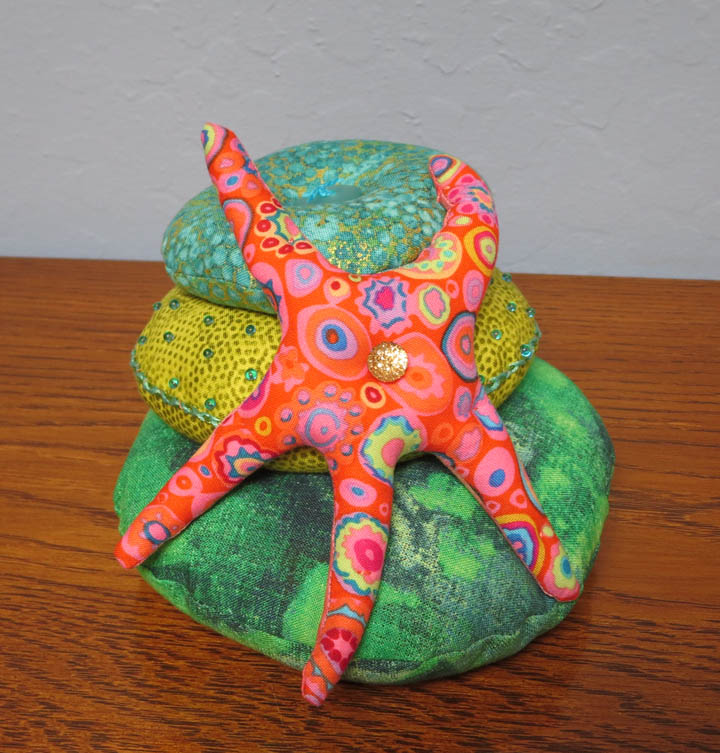 Under the Sea pincushion for Ruth