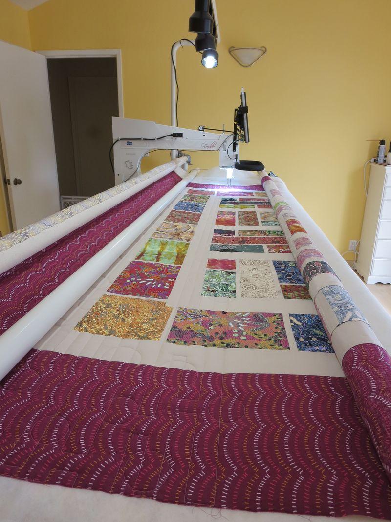 Julies Australian quilt