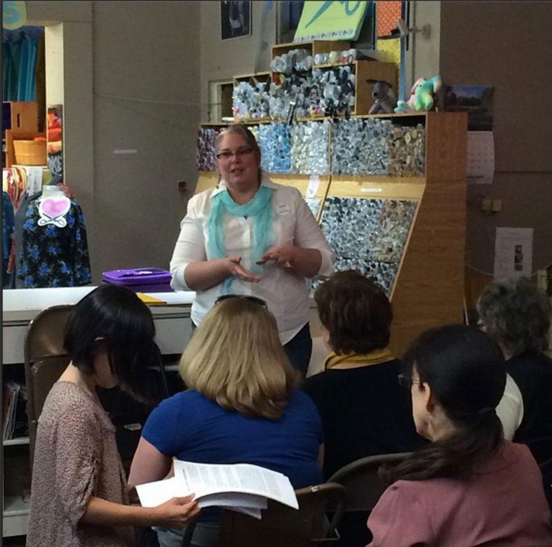 Tami and Longarm Quilting Presentation