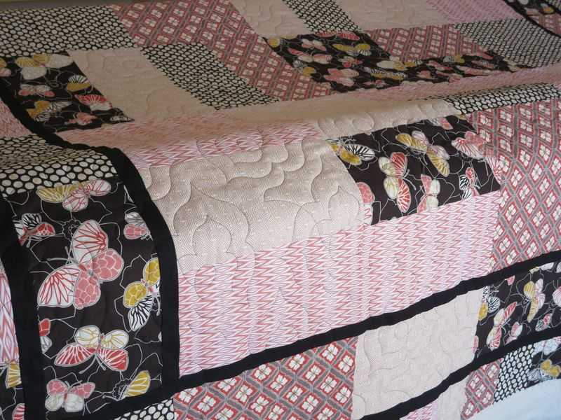 Emperor Gardens Quilt  with Agave panto