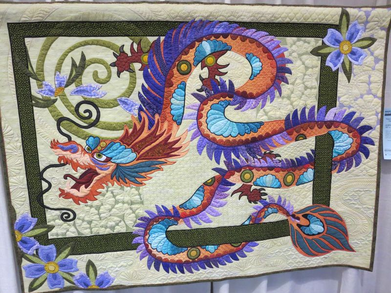 The Quilt with the Dragon Tattoo by Nancy Arseneault