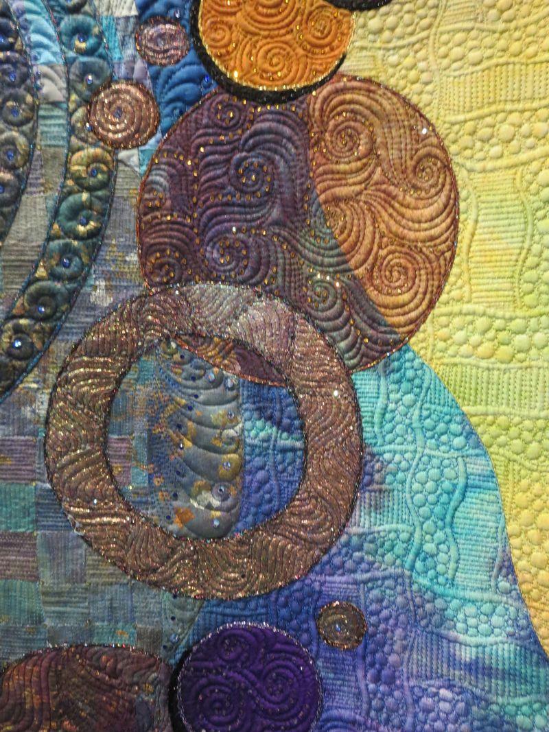 Detail of Fern Rising by Clauia Pfeil