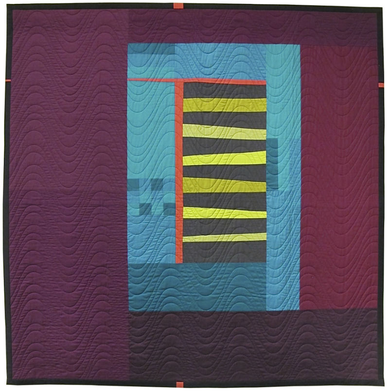 Songs of a Distant Lancaster quilt by Tami Levin
