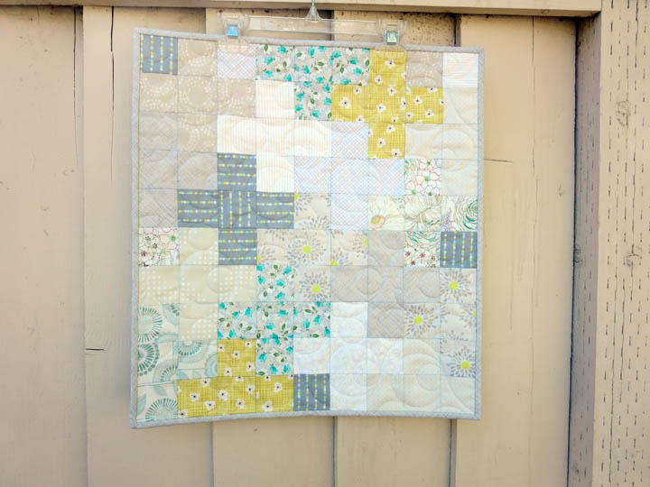 Low Volume Plus Sign quilt