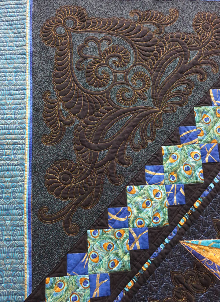 A Splendid Display by Cindy Seitz Krug detail