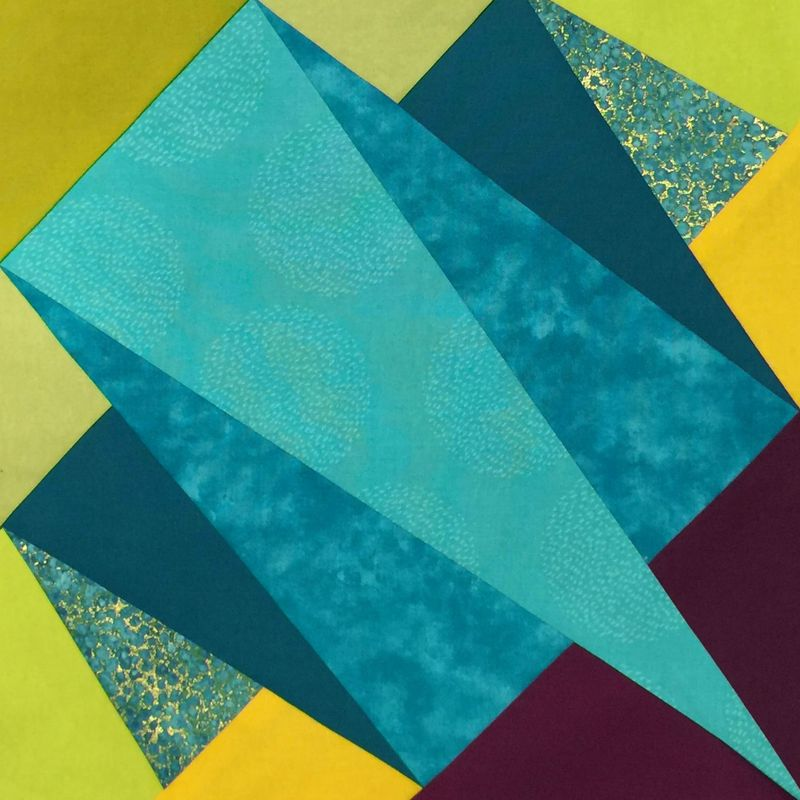 Folded Quilt block cropped