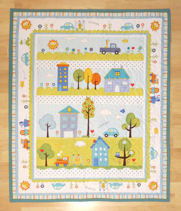 Baby Panel Quilt - The Quilted Lemon : panel quilt - Adamdwight.com