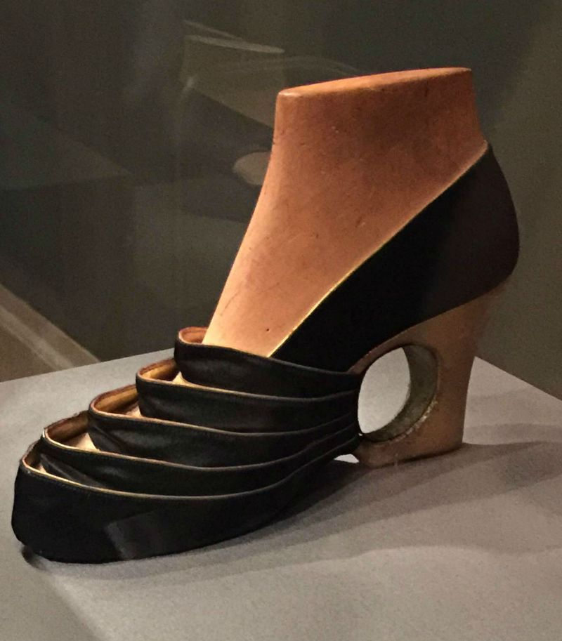 Steven Arpad evening shoe prototype