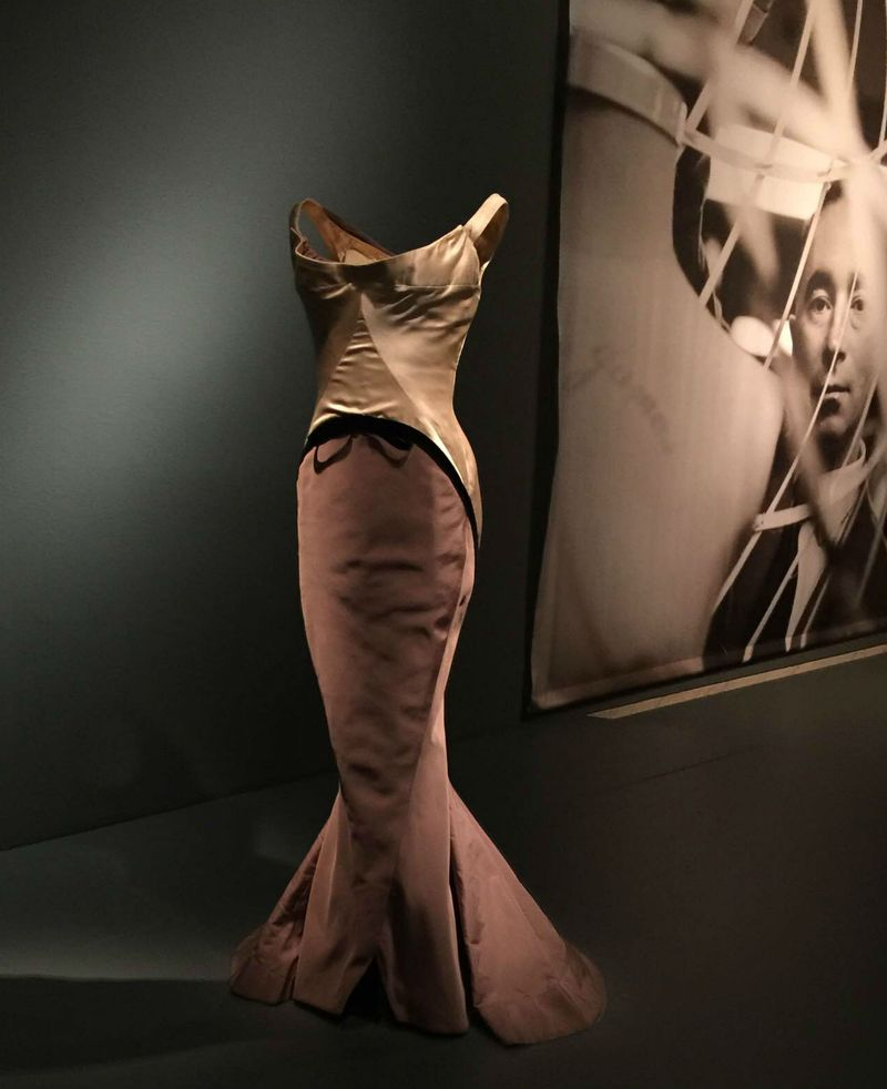 Charles James Diamond evening dress