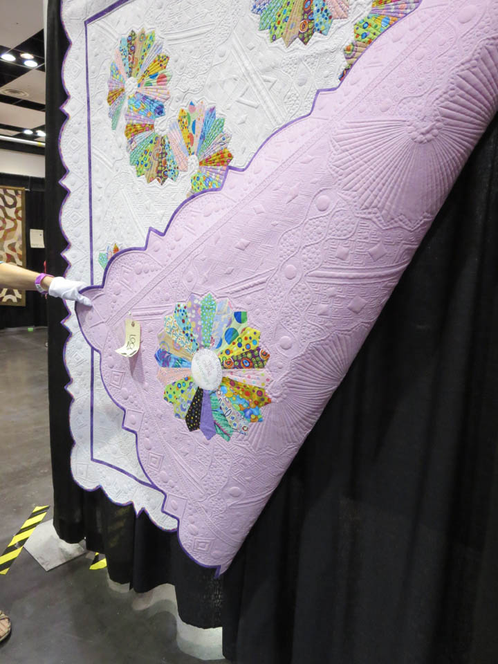 Lets Do the Dresden Twist by Teri Cherne backing detail