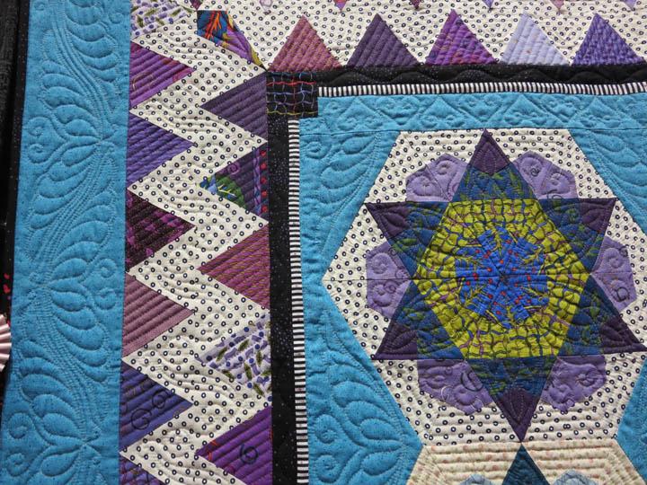 Ginas Starflowers by Marie OKelley detail