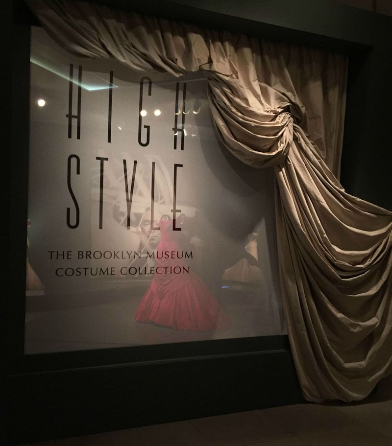 High Style Fashion exhibit at Legion of Honor