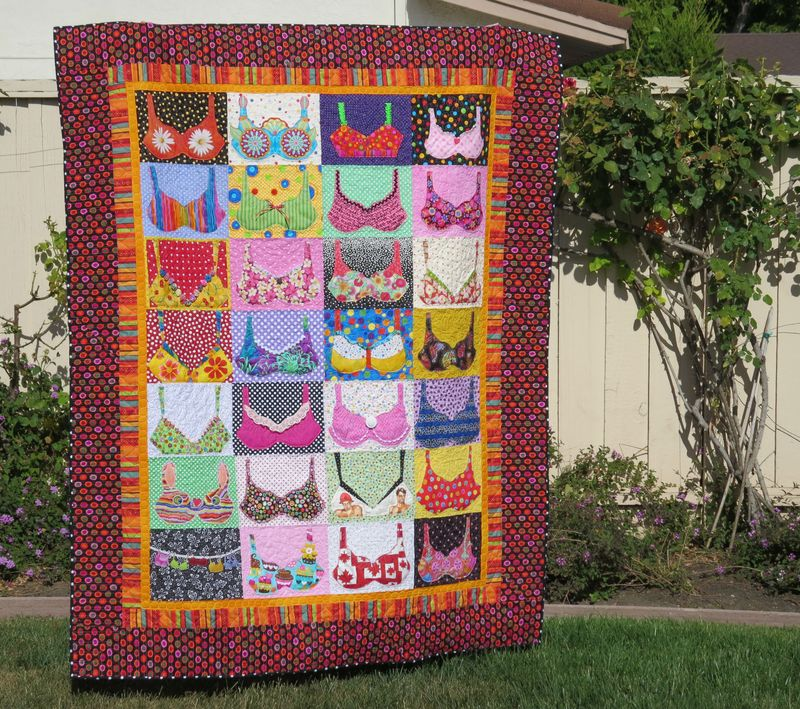 Mary Lous Bra Quilt