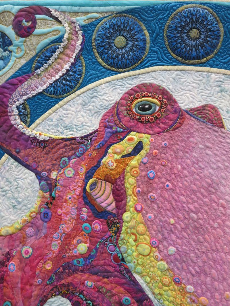 Detail of Song of the Sea by Kathy McNeil
