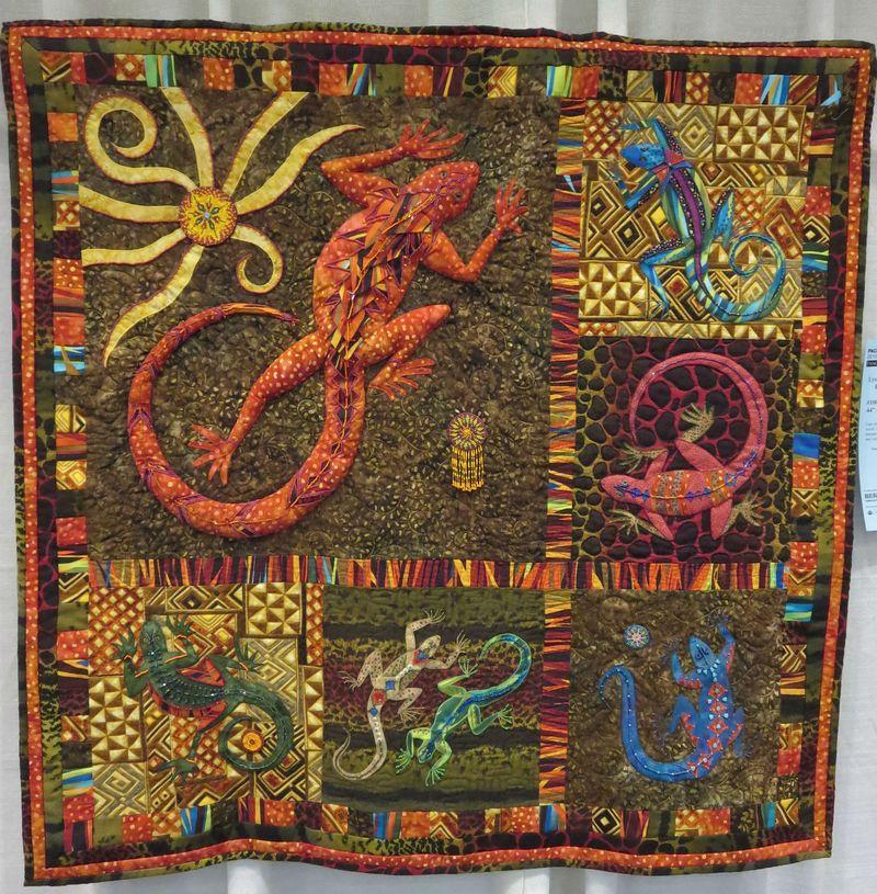 Lizard Dance by Lyn Axelson