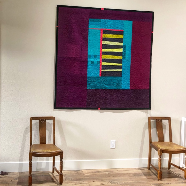 Quilt in Entryway