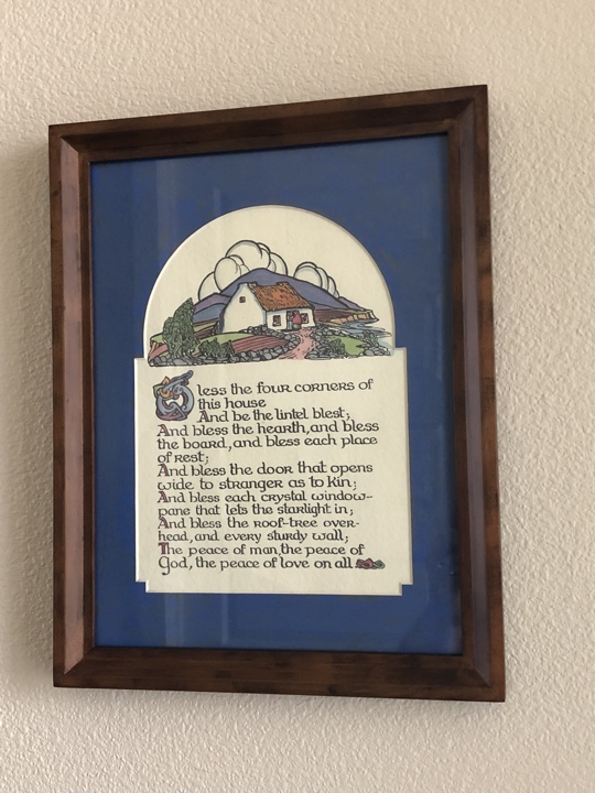 Irish house blessing