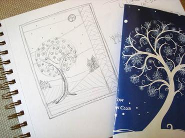 Fourseasonsquiltswap_winter_sketch