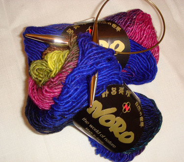 Noro_silk_garden_skeins_and_needles